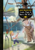 Cover image for Lions, tiger & bears, oh my!