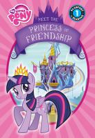 Cover image for Meet the princess of friendship
