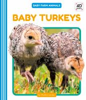 Cover image for Baby turkeys