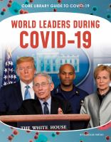Cover image for World leaders during COVID-19