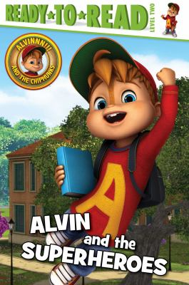 Cover image for Alvin and the superheroes
