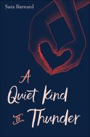 Cover image for A quiet kind of thunder
