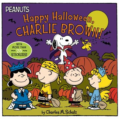 Cover image for Happy Halloween, Charlie Brown!