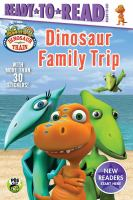 Cover image for Dinosaur family trip