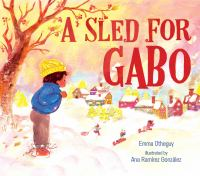 Cover image for A sled for Gabo