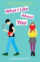 Cover image for What I like about you