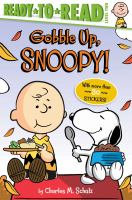 Cover image for Gobble up, Snoopy!
