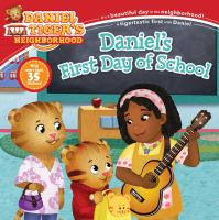 Cover image for Daniel's first day of school