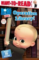 Cover image for Operation library!
