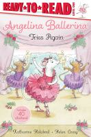 Cover image for Angelina Ballerina tries again