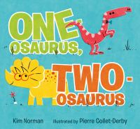 Cover image for One-osaurus, two-osaurus