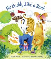 Cover image for No buddy like a book