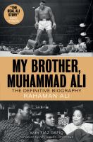 Cover image for My brother, Muhammad Ali : the definitive biography