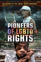 Cover image for Pioneers of LGBTQ+ rights