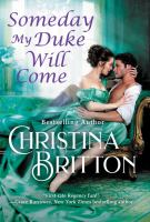 Cover image for Someday my duke will come