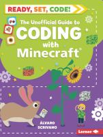Cover image for The unofficial guide to coding with Minecraft