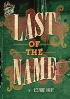 Cover image for Last of the name