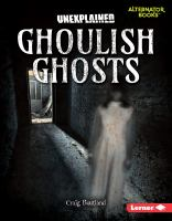 Cover image for Ghoulish ghosts