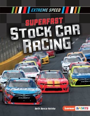 Cover image for Superfast stock car racing