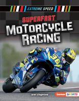 Cover image for Superfast motorcycle racing