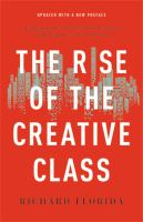 Cover image for The rise of the creative class