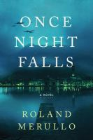 Cover image for Once night falls : a novel