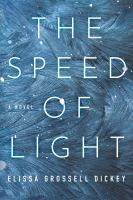 Cover image for The speed of light : a novel