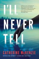Cover image for I'll never tell
