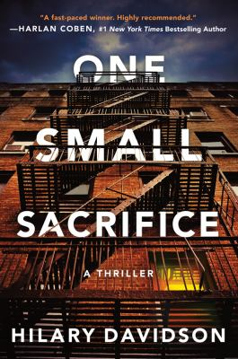 Cover image for One small sacrifice