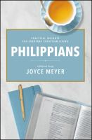 Cover image for Philippians : A Biblical Study