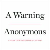 Cover image for A Warning