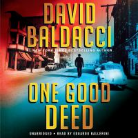 Cover image for One good deed