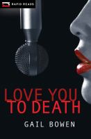 Cover image for Love you to death