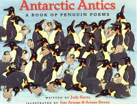 Cover image for Antarctic Antics : a book of penguin poems.