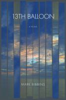 Cover image for 13th balloon : a poem
