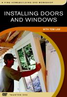 Cover image for Installing doors and windows