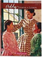 Cover image for Addy learns a lesson : a school story