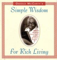 Cover image for Oseola McCarty's simple wisdom for rich living.