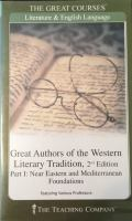 Cover image for Great authors of the western literary tradition. Part 2, Literature of the classical world.
