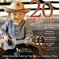Cover image for 20 great kid songs : celebrating 20 years of the best in children's music.