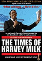 Cover image for The times of Harvey Milk
