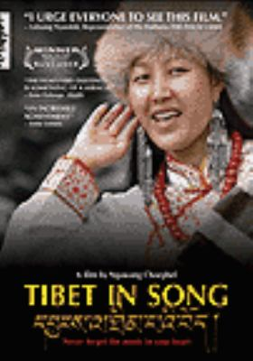 Cover image for Tibet in song