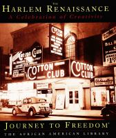 Cover image for The Harlem Renaissance : a celebration of creativity