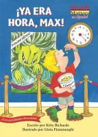 Cover image for Ya era hora, Max!