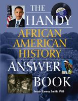 Cover image for The handy African American history answer book