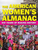 Cover image for The American women's almanac : 500 years of making history