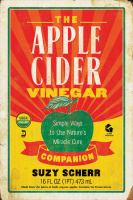 Cover image for The apple cider vinegar companion : simple ways to use nature's miracle cure