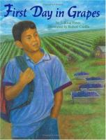 Cover image for First day in grapes