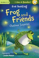Cover image for Frog and friends : Outdoor surprises