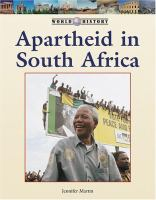 Cover image for Apartheid in South Africa
